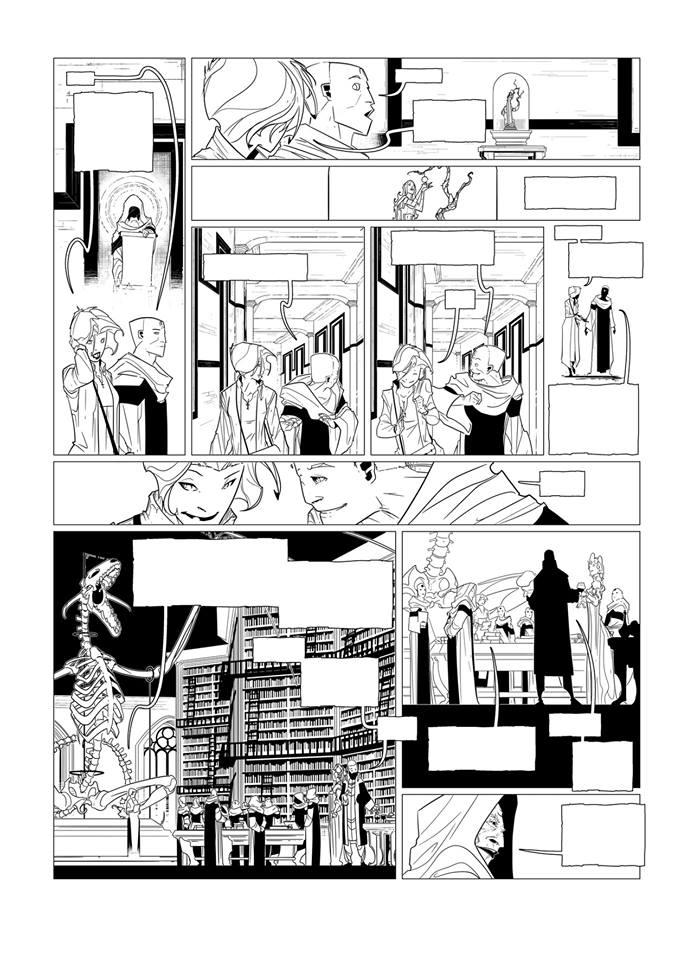 Page 12 de la Geste des Chevaliers Dragon T.29...