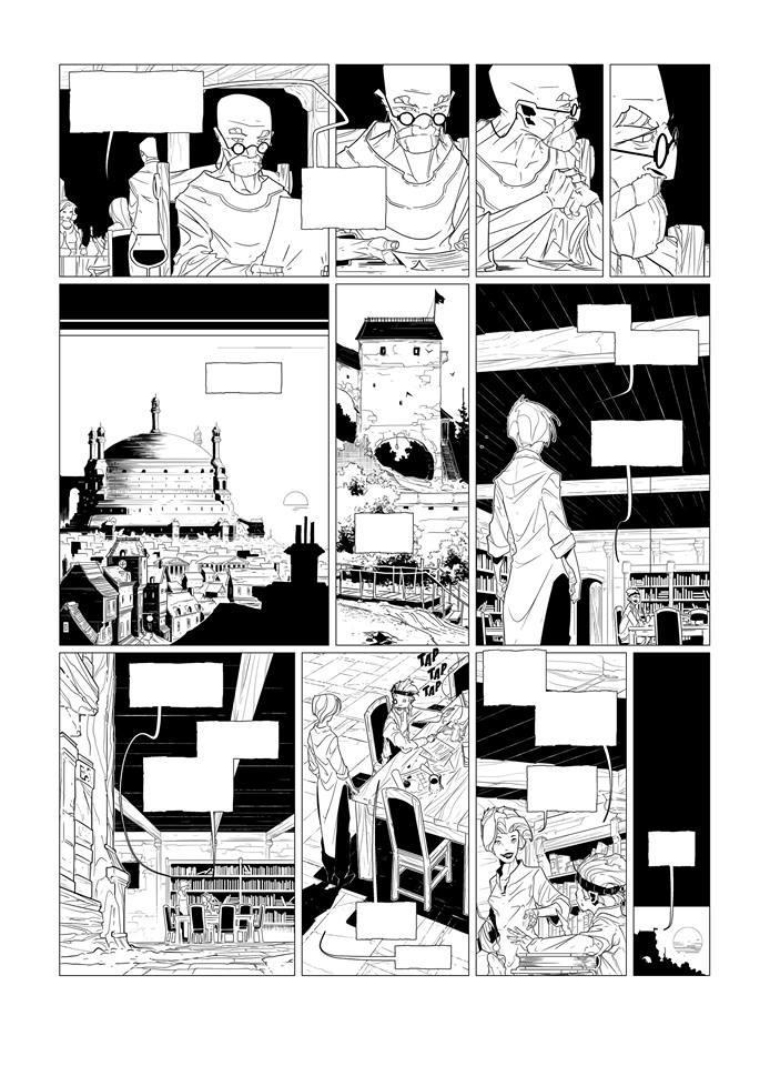 Work In Progress 2017-05-22...Geste des Chevaliers Dragon T.29 page 15 (Éd. Soleil)
